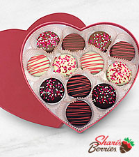 My Heart is Yours Valentine Belgian Chocolate Oreo® Cookie Heart Shaped Box