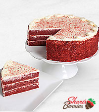 Red Velvet Riches Valentine's Day Cake