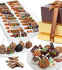 Belgian Chocolate Deluxe Gift Basket