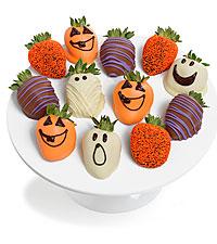 Halloween Belgian Chocolate Covered Strawberries