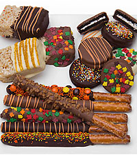 Belgian Chocolate Covered Fall Sampler – 15pc