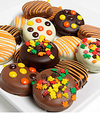 Fall Belgian Chocolate Covered OREO® Cookies – 12pc