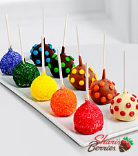 Belgian Chocolate Dipped Cake Pops