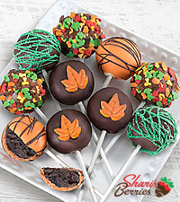 Chocolate Dip Delights™ Fantastic Fall Chocolate Covered Cake Pops