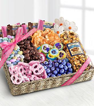 Spring Chocolates & Treats Basket - BEST