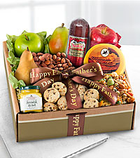 Happy Father's Day Fruit & Gourmet Gift Box