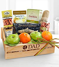 The #1 Dad Gourmet Gift Basket