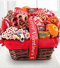 Lovely Day Valentine Gourmet Gift Basket-Good
