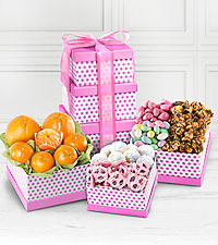 Spring Celebration Gourmet Gift Tower