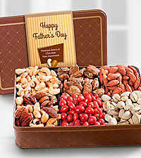 Nuts About Dad Father's Day Gourmet Tin