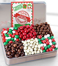 Santa's Snack Gourmet Gift Tin