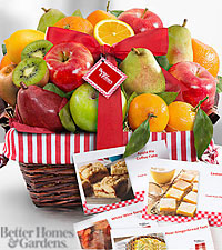 The FTD® Nature's Bounty Gourmet Holiday Fruit Basket by Better Homes and Gardens®