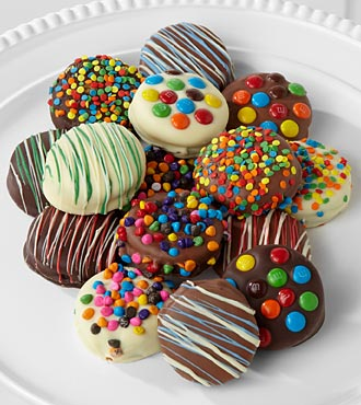 Belgian Chocolate Dipped Birthday Oreo®