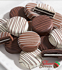 Chocolate Dip Delights™ Classic Real Chocolate-Dipped Oreo® Cookies