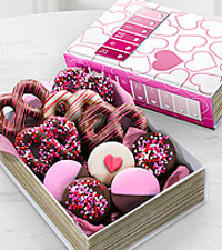Shari's Berries™ Limited Edition Chocolate Dipped Book of Love Pretzels & Oreos®