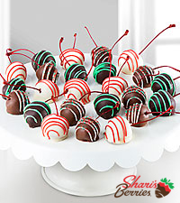 Shari's Berries™ Limited Edition Chocolate Dipped Holiday Cherries
