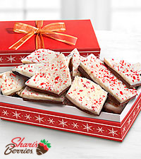 Shari's Berries™ Limited Edition Chocolate Dipped Gourmet Traditions Peppermint Bark