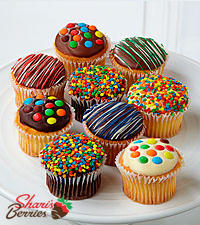 Shari's Berries™ Limited Edition Chocolate Dipped Cupcakes