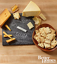 The FTD® Gourmet Cheese Tray by Better Homes and Gardens®- GOOD