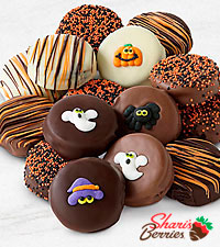 Belgian Chocolate Dipped Halloween Oreo® Cookies