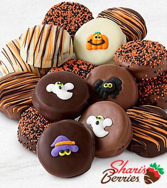 Belgian Chocolate Dipped Halloween Oreo® Cookies