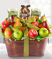 Fall Bounty Gourmet Gift Basket