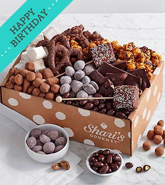 Chocolate Bliss Box- Happy Birthday Ribbon