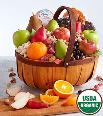 Organic Favorites Gift Basket