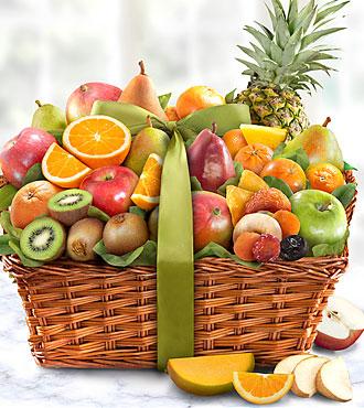 Tropic Abundance Basket