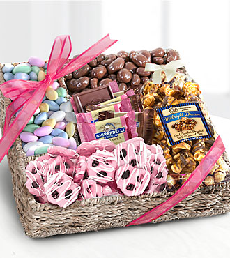 Spring Chocolates & Treats Basket - Good