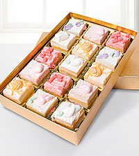 Chocolate Dip Delights™ Spring & Summer Spectacular Petit Fours - 15 pieces