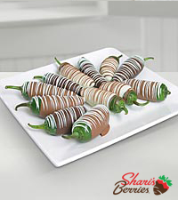 Chocolate Dip Delights™ Real Chocolate Covered Jalapenos
