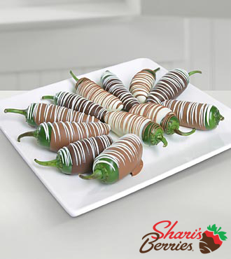 Shari's Berries™ Limited Edition Chocolate Dipped Jalapenos