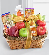 Fruit & Gourmet Kosher Food Gift Basket