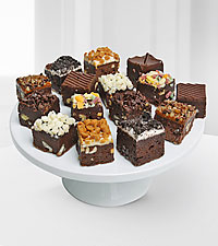 Chocolate Dip Delights™ Brownie Bites