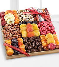 Season's Snacks Holiday Dried Fruit, Nuts & Sweets Tray - BETTER