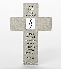 The Lord is My Shepherd Wall Cross