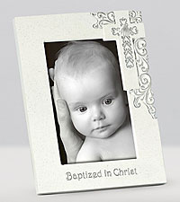 Baptism Blessings Frame