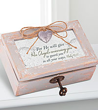 Amazing Grace Musical Locket Box