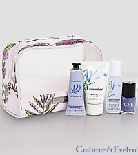 Crabtree & Evelyn Lavender Traveller Set
