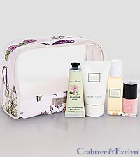 Crabtree & Evelyn Summer Hill Traveller Set