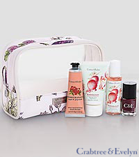 Crabtree & Evelyn Pomegranate Traveller Set