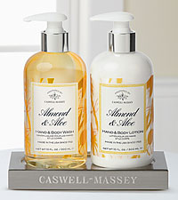 Caswell Massey Almond & Aloe Caddy Gift Set