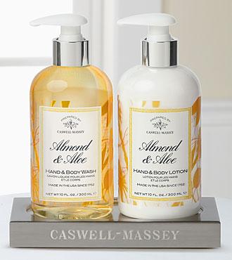 Caswell Massey Almond & Aloe Caddy Gift Set