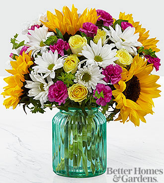 Sunlit Meadows™ Bouquet by Better Homes and Gardens® - VASE INCLUDED