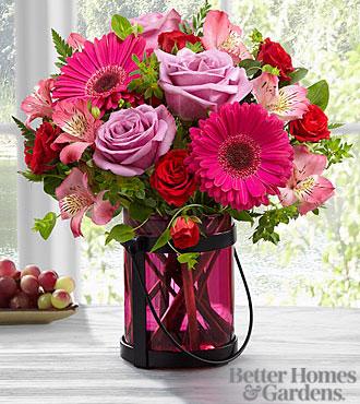 Le bouquet Pink Exuberance de FTD® par Better Homes and Gardens® - VASE INCLUS