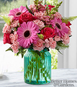 The FTD® Gifts from the Garden Bouquet by Better Homes and Gardens® - VASE INCLUDED