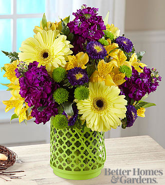 The FTD® Community Garden™ Bouquet By Better Homes And Garden®   VASE  INCLUDED
