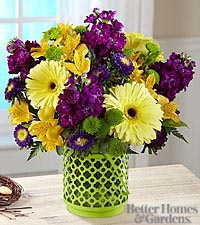 The FTD® Community Garden™ Bouquet by Better Homes and Garden® - VASE INCLUDED