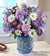 The FTD® Cottage Garden™ Bouquet by Better Homes and Garden® - VASE INCLUDED